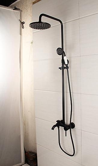 Nihe Dusche Wasserhahn Mischbatterie Antike Messing