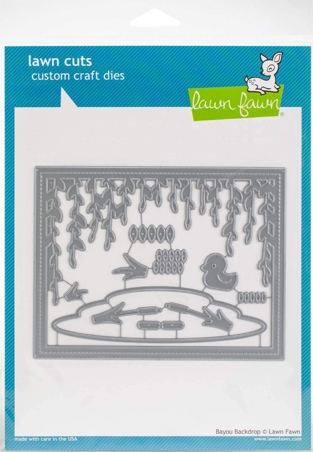 Lawn Cuts Custom Craft Die -bayou Backdrop
