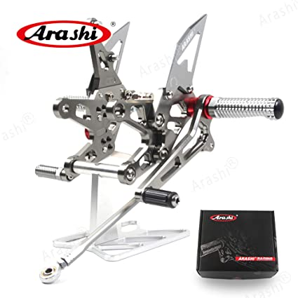 Amazon.com: Arashi Adjustable Rearsets for KAWASAKI NINJA ...