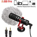 JSD PRO Universal Cardiod Mic for Smartphone, PC, DSLR & Camcorder