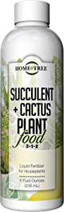 Succulent and Cactus Plant Food by Home + Tree - Every Bottle Sold Plants A Tree