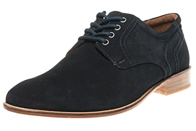 save off 9ddaf fe08d Manz Business Schuhe in Übergrößen Blau 146068-03-041 große ...
