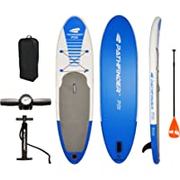PathFinder Inflatable SUP Stand Up Paddleboard (Blue / Orange)