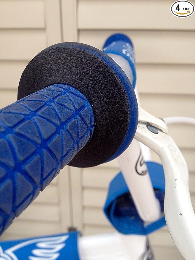 BMX MOUNTAIN BIKE BICYCLE HANDLEBAR GRIP DONUTS THUMB SAVERS KUWAHARA