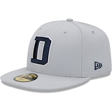 f3d0a4b2ddf Amazon.com   New Era Men s Dallas Cowboys 59Fifty D Cap Grey 7 5 8 ...