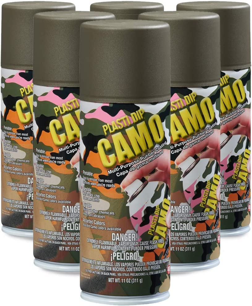 Plasti Dip Performix (11217-6-6PK) Green Camo Spray - 11 oz. Aerosol