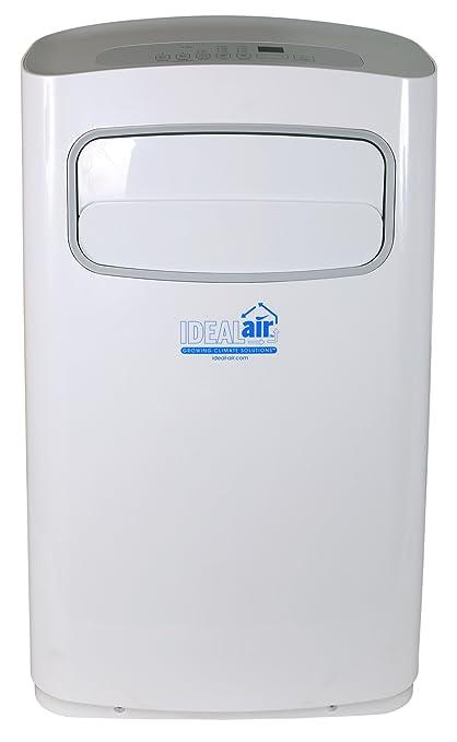 Ideal Air AC | 14,000 BTU | Portable Air Conditioner, Remote Control  Included,