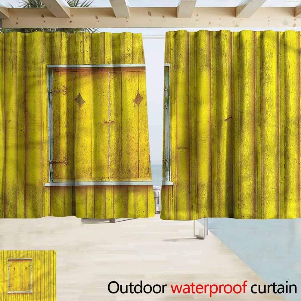 Beihai1Sun Cortina para Puerta corredera, persianas rústicas para el Campo, eficiencia energética, oscurecimiento: Amazon.es: Jardín
