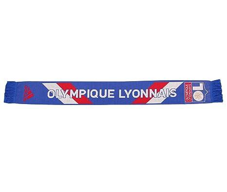 get cheap attractive price sale retailer adidas OL 3S Scarf BLE - Echarpe Olympique Lyonnais Football Homme