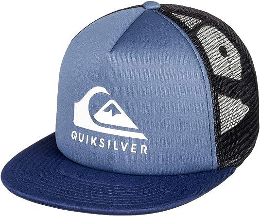 Quiksilver Foamslay - Gorra para Hombre, Bijou Blue, Talla Única ...