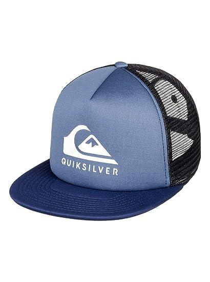 5324bc400b88c Quiksilver Foamslay - Casquette Trucker - Homme - One Size - Bleu:  Quiksilver: Amazon.fr: Vêtements et accessoires