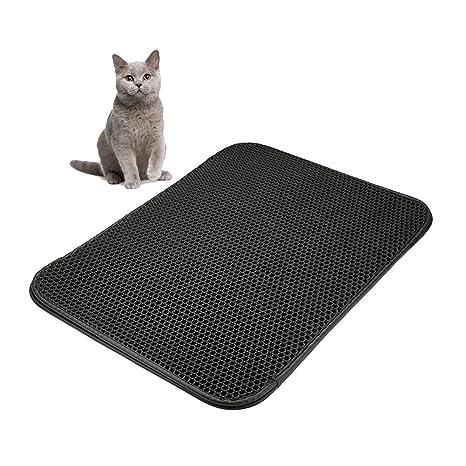 Mallalah Alfombrilla para Arena de Gatos, para Gatos, Gato, Gatito, Gatito,