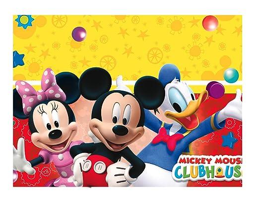 60 opinioni per Procos 81511- Tovaglia plastica Mickey Mouse Club House (120x180 cm)
