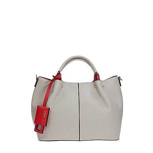 CafèNoir BKU001 Handbag Women BEIGE TU  Amazon.co.uk  Shoes   Bags c32fcf14ceb