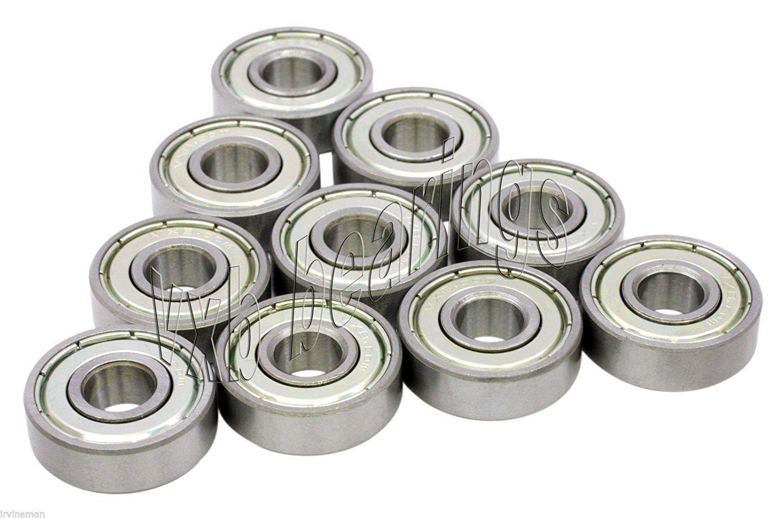 ISB 6208ZZ C3 Rillenkugellager Ball Bearing  40 x 80 x 18 mm 2Z ZZ Steel Seal