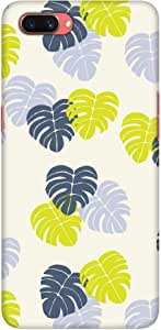 Stylizedd Oppo A3s Slim Snap Basic Case Cover Matte Finish - Island Leaves