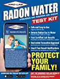 PRO-LAB Radon In Water Do It Yourself DIY Test