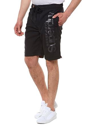 dab7065792 Superdry Boardshorts in Black (XX-Large): Amazon.co.uk: Clothing