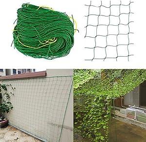CALIDAKA Garden Netting Fine Mesh, Plant Trellis Netting,Nylon Mesh Garden Climbing Support Net Plant Grow Fence Frame for Cucumber Vines Bean Plant Net Climbing