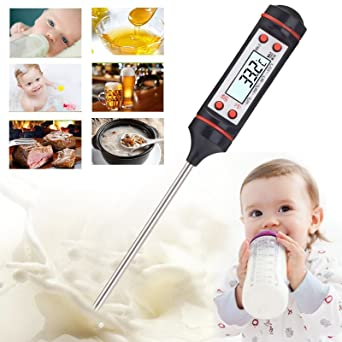 Ascension � Digital LCD Instant Read Thermometer for Cooking Kitchen Food Meat BBQ Wine Jam Steak Candy