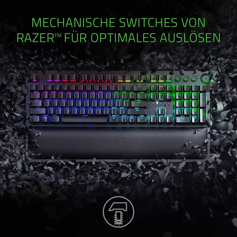 Razer BlackWidow Elite (Orange Switch) - German Layout