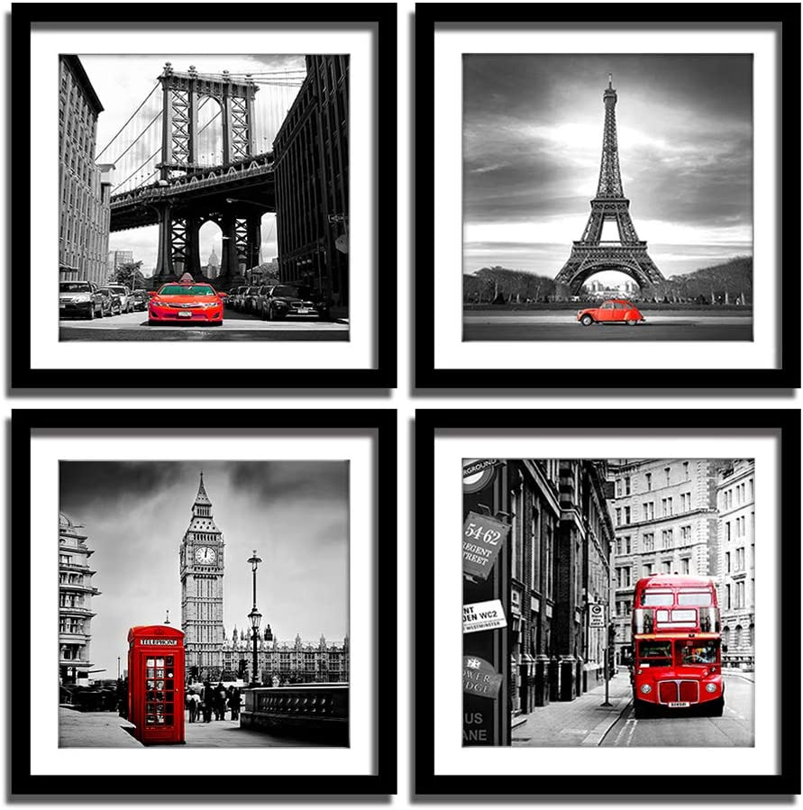 London Tower Bridge Black And White Wall Art Large Poster /& Canvas Pictures