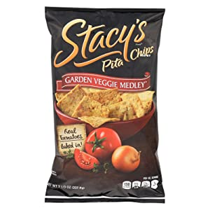 Garden Veggie Medly Pita Chips 7.33 Ounces (Case of 12)