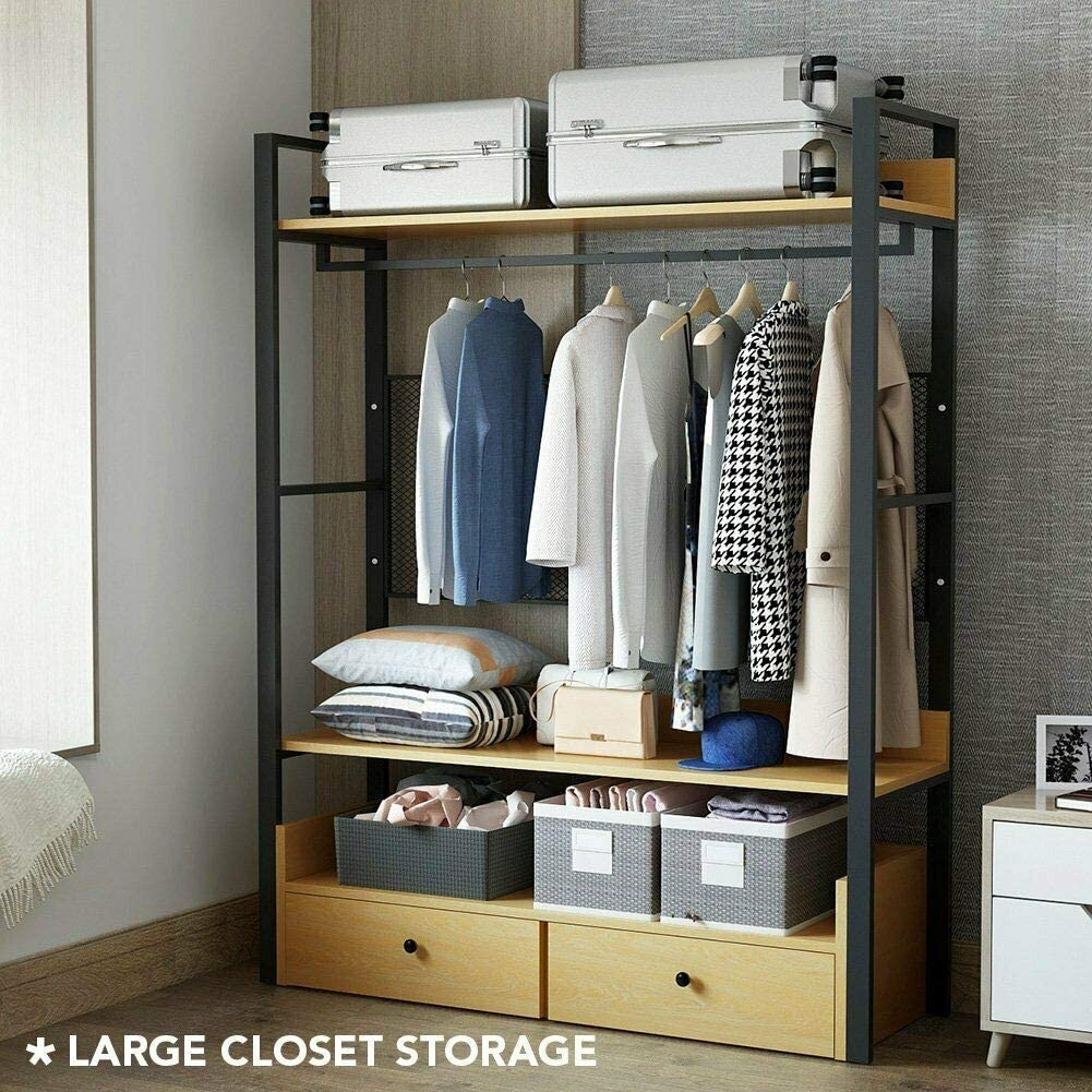 Amazon coupon code for USA Clothes Racks with 2 Drawers