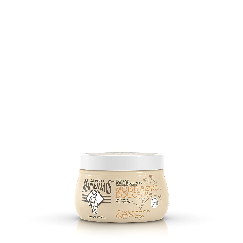 LE PETIT MARSEILLAIS Moisturizing Body Balm, Beige, Aloe and Beeswax, 250 ml Johnson & Johnson