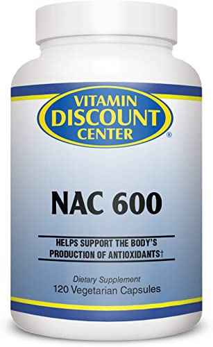 Vitamin Discount Center NAC N-Acetyl Cysteine 600 mg