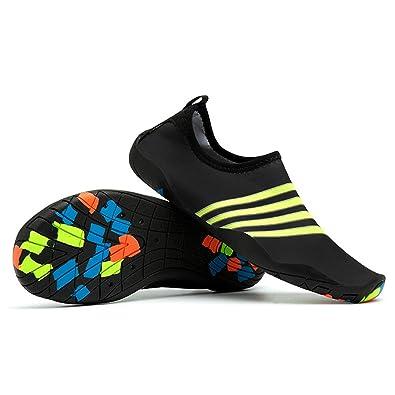 Amazon.com: aiwoo buceo zapatos snorkel velocidad ...