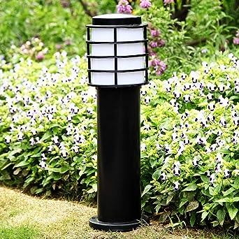 POST Luces de jardín, Luces de paisaje, Luces de camino Acrílico de aluminio al aire libre Impermeable IP44, for césped, patio, patio, calzada, jardín - Modern E27: Amazon.es: Iluminación