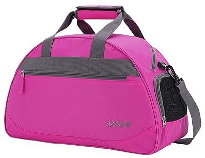 MIER 20 Inches Sports Gym Bag Travel Duffel Bag