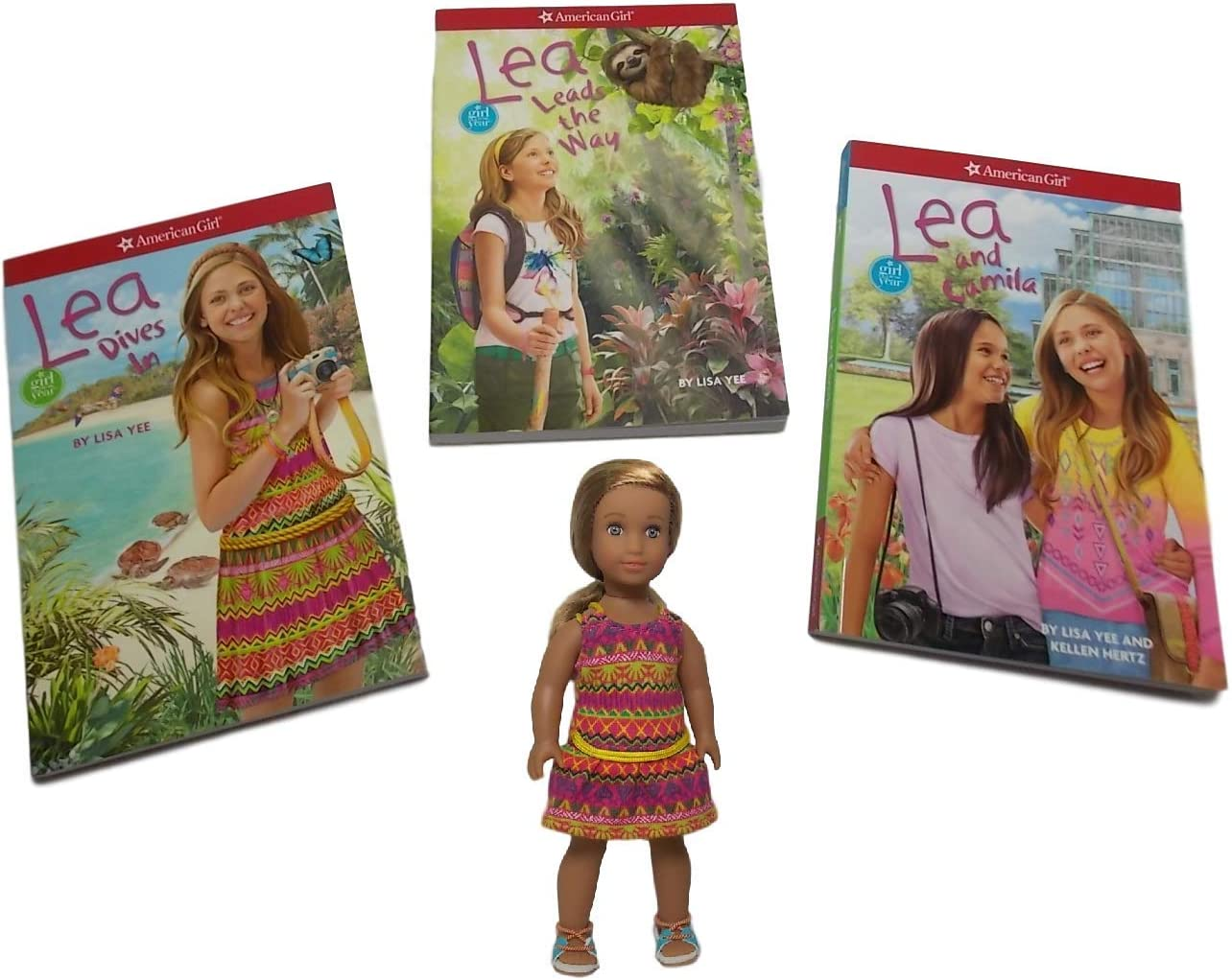 American Girl  LEA LOT~4 Complete NEW Boxed Sets~Outfits~Clothing~Accessories~
