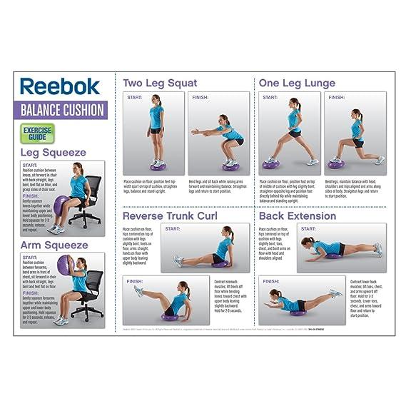 Reebok Balance Cushion Amazon Co Uk Sports Outdoors