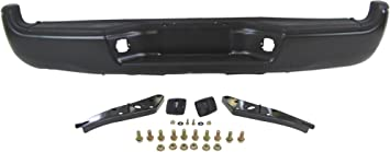 Partslink Number TO1103113 OE Replacement Toyota Tacoma Rear Bumper Assembly