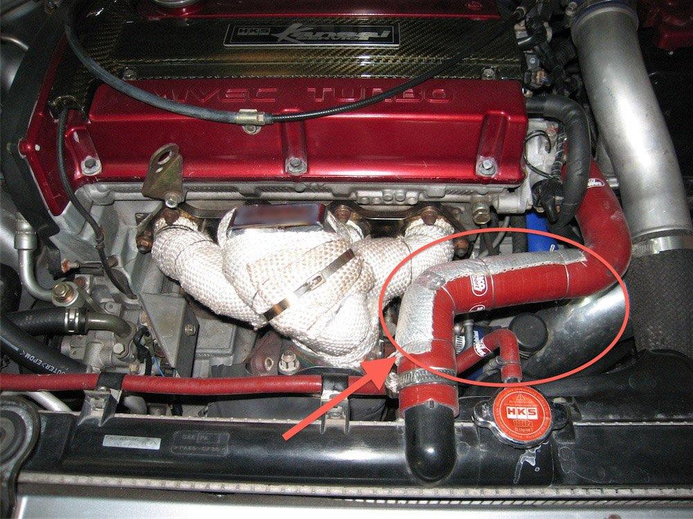 Autobahn88 Kit de carreras: cinta de barrera de calor aluminizada para el sistema de admisión de aire del vehículo, tubo de succión, tubo del intercooler, ...