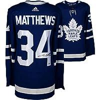 $599 » Auston Matthews Toronto Maple Leafs Autographed Blue Adidas Authentic Jersey - Fanatics Authentic Certified