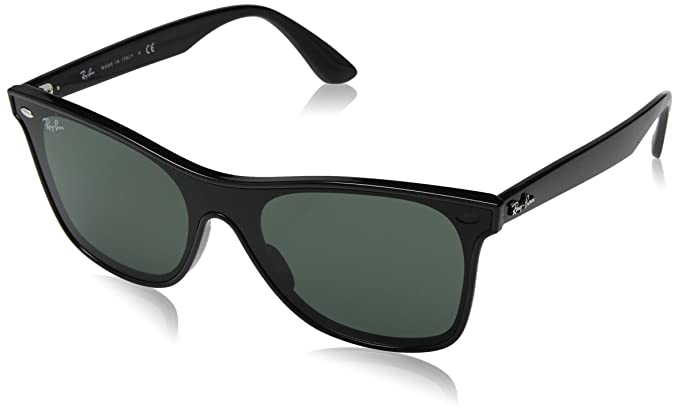 f7a68dd7e7 Image Unavailable. Image not available for. Color  Ray-Ban RB4440N Blaze  Wayfarer Sunglasses ...