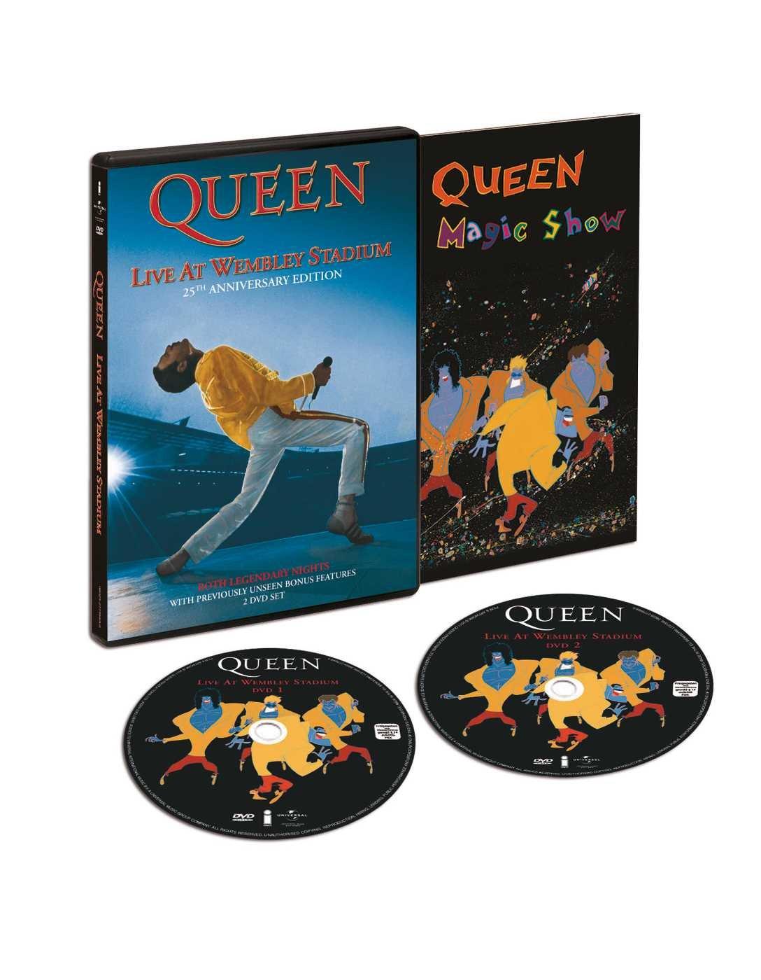 Queen: Live At Wembley Stadium [Alemania] [DVD]