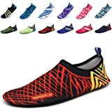 EQUICK Aqua Shoes quick dry Sports Water Socks with Holey Ventilation Sole Men Women Kids Pool