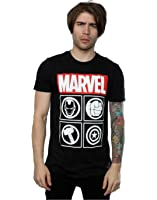 Marvel Men's Avengers Icons T-Shirt