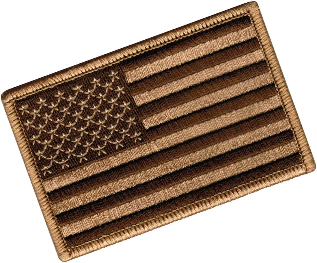 """3 x 2 /"""" Arizona State Flag Tactical VELCRO® BRAND Hook Fastener Patch"""
