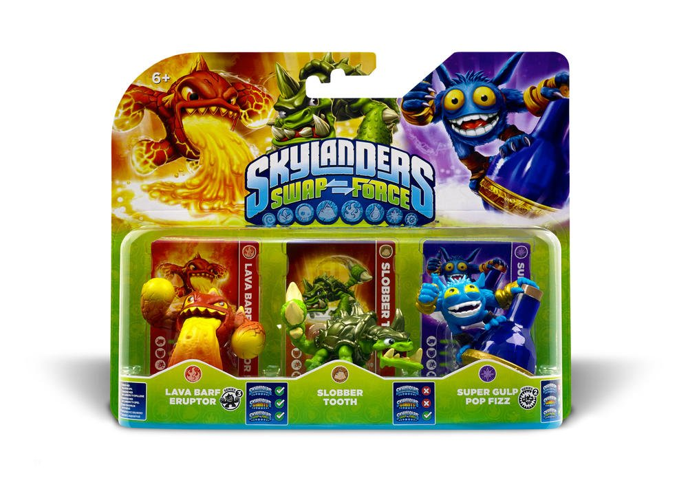 Skylanders: Swap Force - Triple Pack A: not machine specific ...