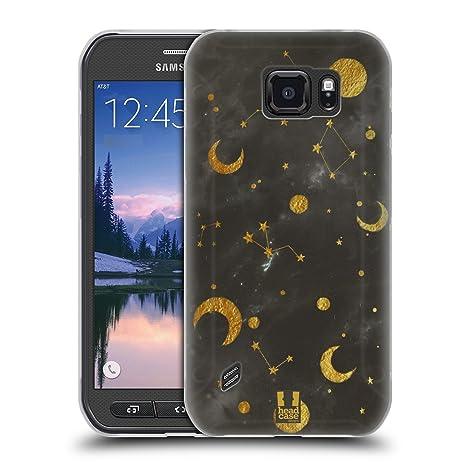 Head Case Designs Constellation Galaxie De Marbre Étui Coque en Gel ...