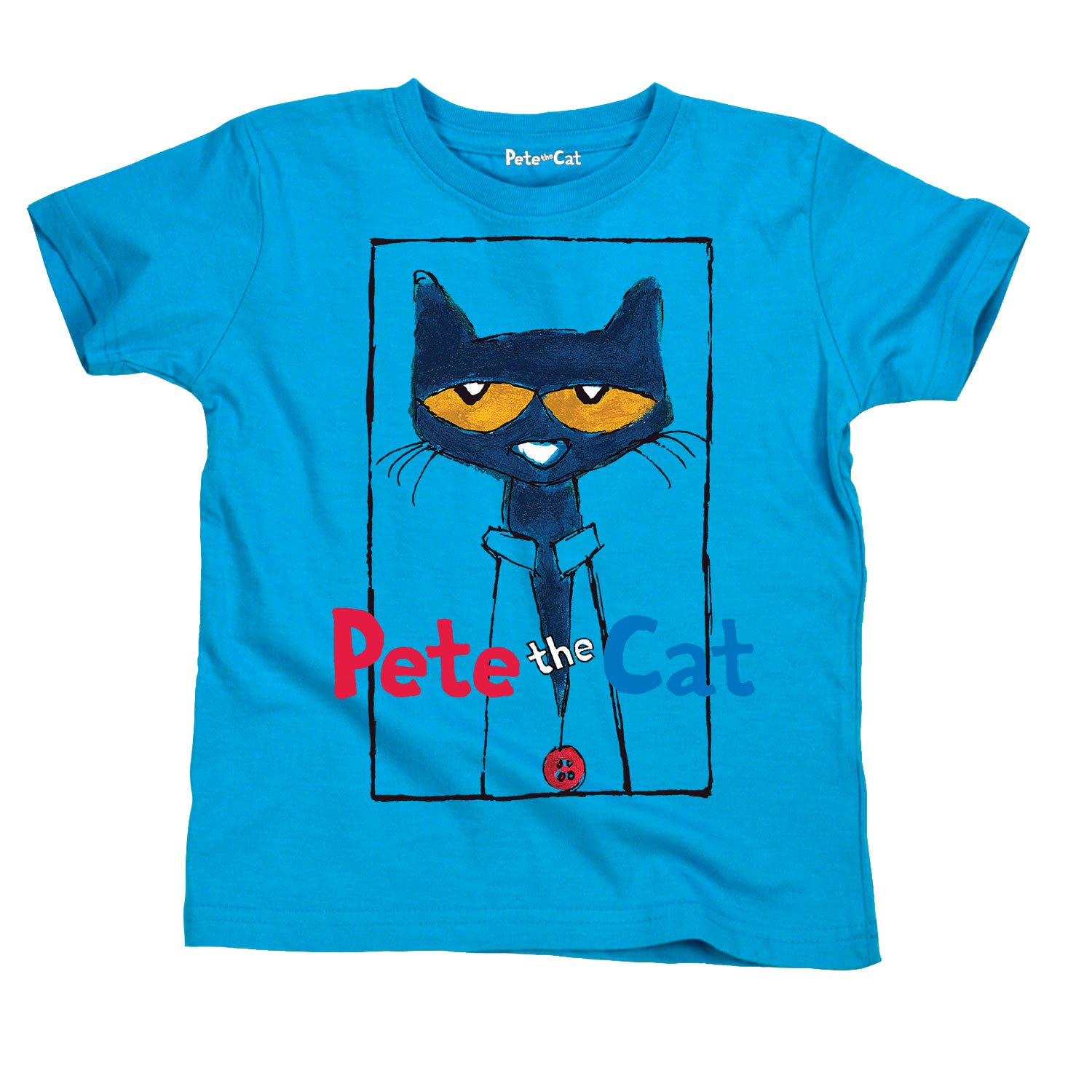 d9e84b09 Pete the Cat Officially Licensed Book Character Picture Frame Kids Youth T- Shirt Apparel
