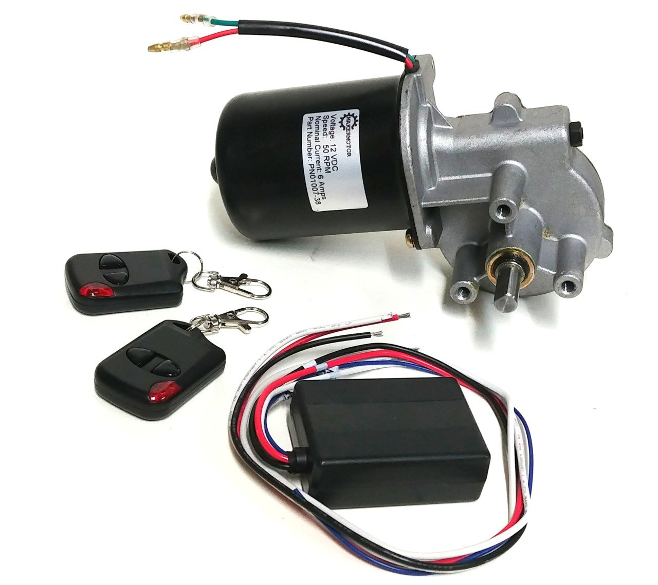 Radio Controlled Electric Motor Switch R C Makermotor 3 8 D Shaft 12vdc Remote Control Wireless Gear Momentary Switching Between Reverse And Forward Industrial