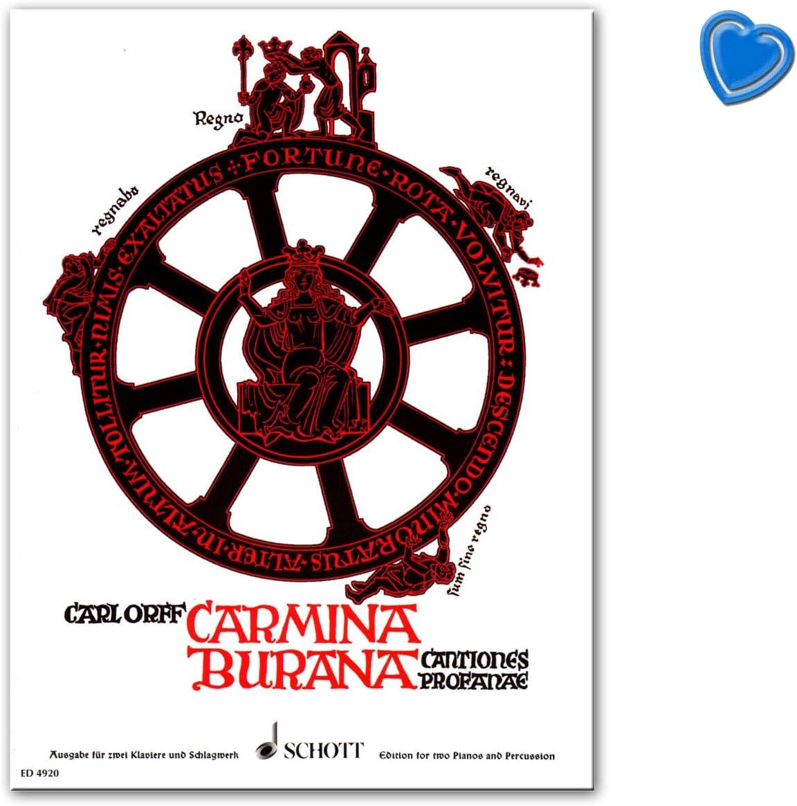 Carmina burana Cant iones profanae Carl Orff – Verlag Schott ...