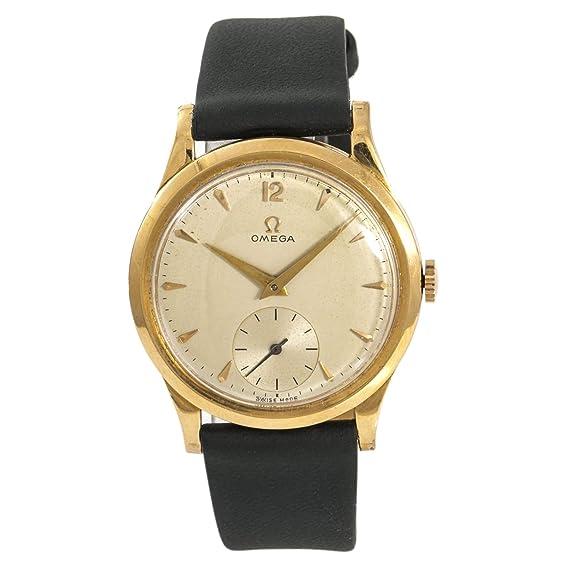 Omega - Reloj mecánico de Viento Masculino (Certificado de autenticidad)