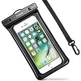 """(IPX8 Certificato ) Custodia Impermeabile Subacquea (30 metri sott'acqua) Universale per Smartphone 5.8"""" Massimo ,Simpeak Borsa Waterproof Cover Case Impermeabile per iPhone 7/ 7 Plus/ SE / 6s / 6s Plus / 6 / 6 Plus / 5s / 5c / 5, Samsung S8 / S7 / S7 edge / S6 / S5 ed altri Smartphone, ecc"""